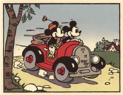 Mickey & Minnie out for a drive.jpg
