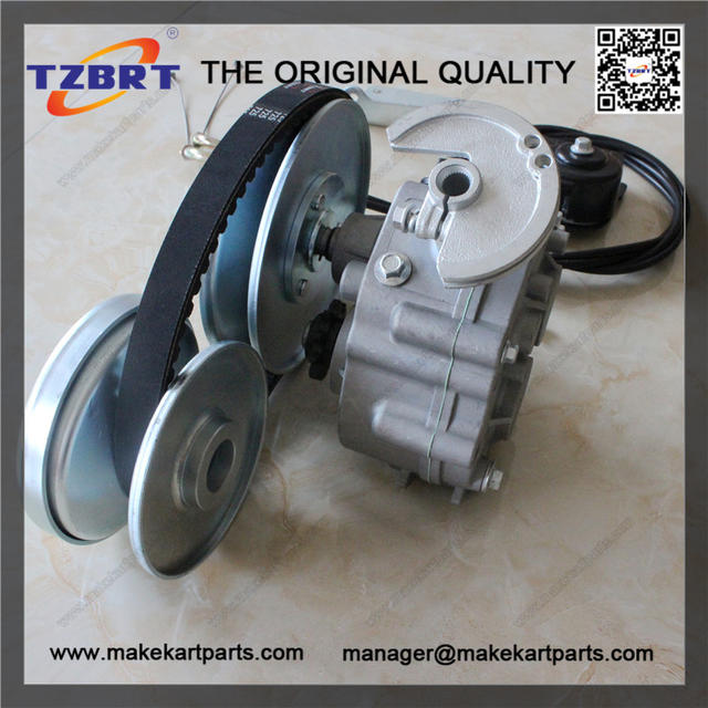 Using the Cable operated reverse gearbox : CycleKart Tech