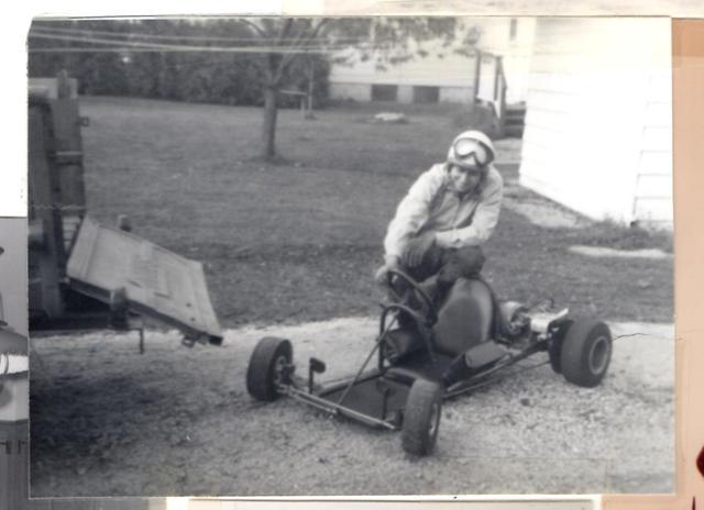 Denny's first real  homebuil gokartt.jpg