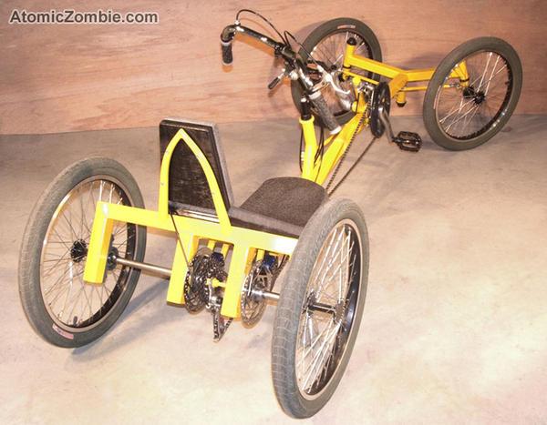 Planning pedal powered cyclekart : Custom Karts Forum ...
