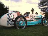 1930 CycleKart Speedway Racer Turquoise Cream Tom Ruth
