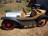 1921 CycleKart German Black wood Don Nothwang c