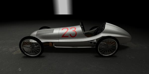 1938 CycleKart Race Car